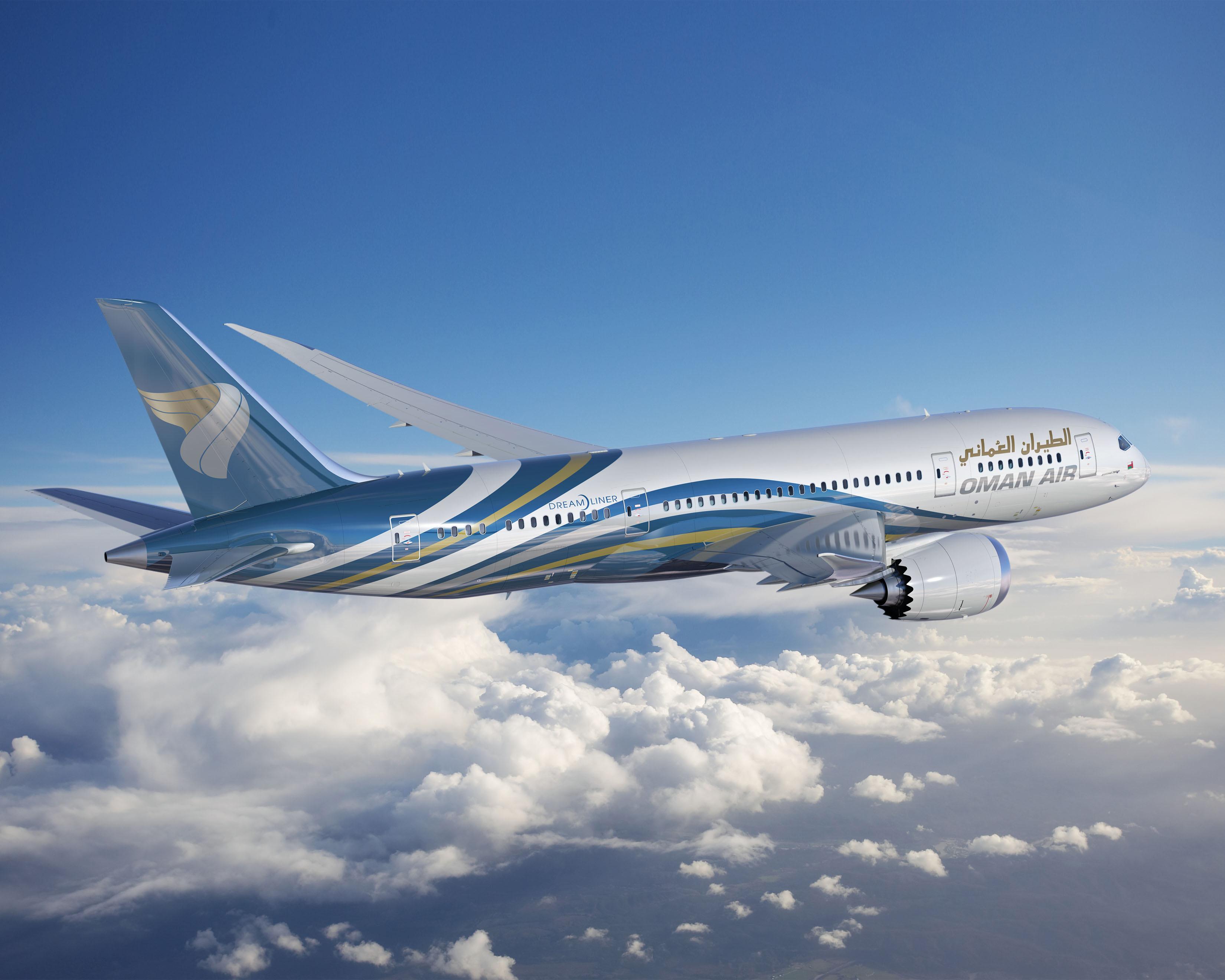 Oman Air 787 ArtworkK65483