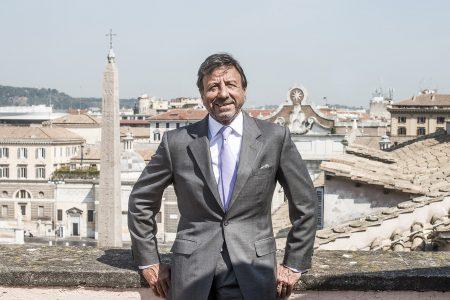 Roma  16-7-2015 Servizio Fotografico realizzato con Sir Rocco Forte presso l' Hotel de Russie a Roma Ph: Cristian Gennari