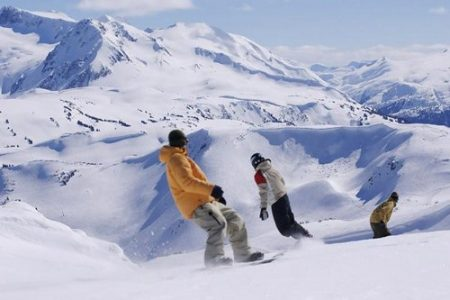 5: Whistler-Blackcomb, Canada. This is a vast ski area with an excellent terrain mix for intermediates and above.