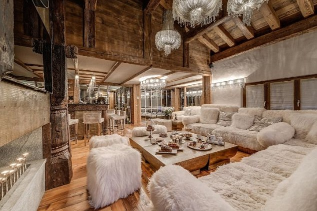 Chalet Marco Polo, Val d'Isere, France Image from internet - for Nikki http://www.consensiochalets.co.uk/luxury-ski/marco-polo/ Ian Fleming's gold smuggling character, Auric Goldfinger, would doubtless approve of the spacious, zen swimming pool, inlaid with gold leaf to achieve a glowingly harmonious spa area complete with jet stream, hammam and hot tub. Moreover, the villain might appreciate how the adjacent relaxation area, with bar, fire place, music system, lasers and smoke machine, could entertain Miss Pussy Galore and friends. Conversely sitting on the vast balcony, stretching out from the open living and dining area, is a good spot to cool one's jets and take in the views of the formidable former racing piste, La Face. And it would be churlish not to take advantage of the complimentary massage offered by your hosts to knead out any pent up frustrations or soothe those skiing aches and strains. The six bedrooms comfortably sleep 10 adults and four children with pool table, dart board and gym to help keep the little ones amused. Low £30,000 - High £110,200