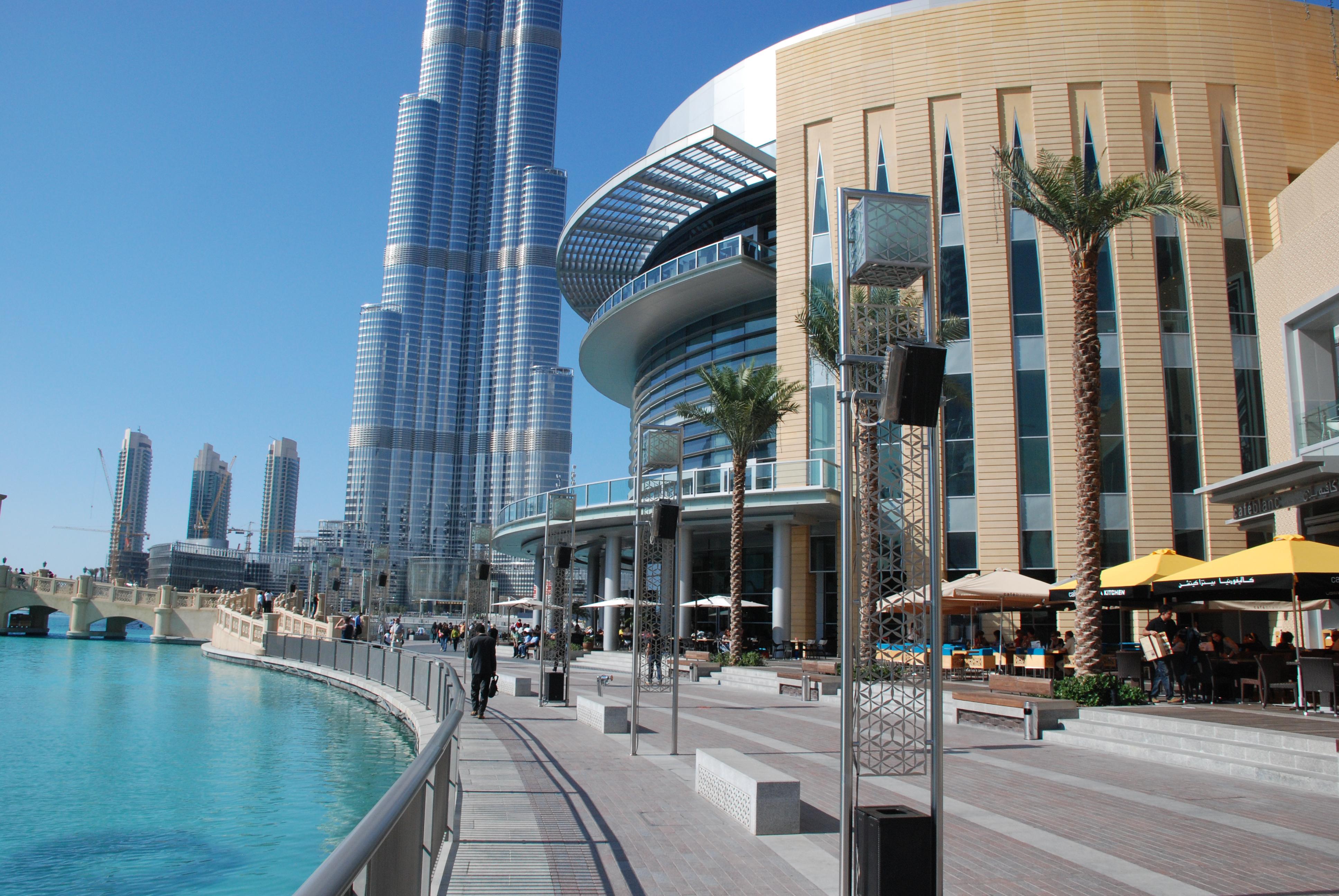 Image result for أماكن تجارية وسياحية شهيرة بدبي